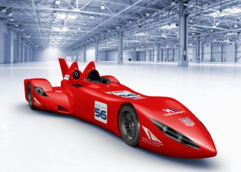 Delta Wing Concept for 2012 24 Hours of Le Mans