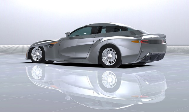 DeltaWing four-seater road car concept