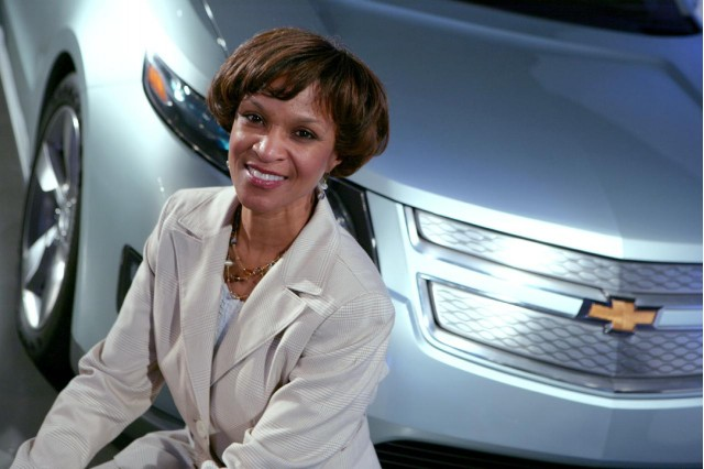 Denise Gray, director of global battery systems engineering, General Motors