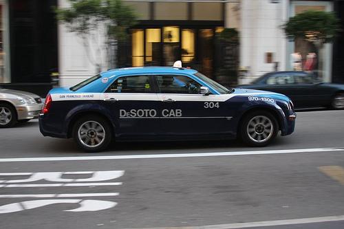 DeSoto Cab, Chrysler 300M, by Flickr user LFL16