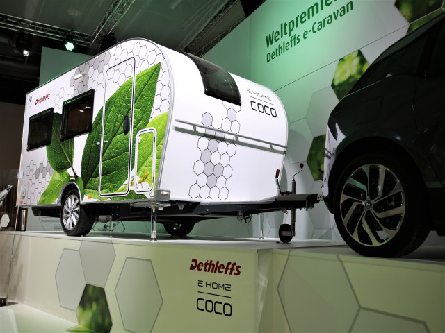 Coco electric camping trailer