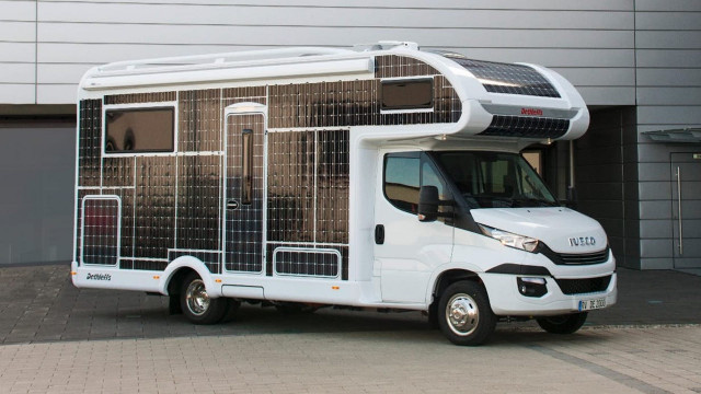Dethleffs e.home electric motor home