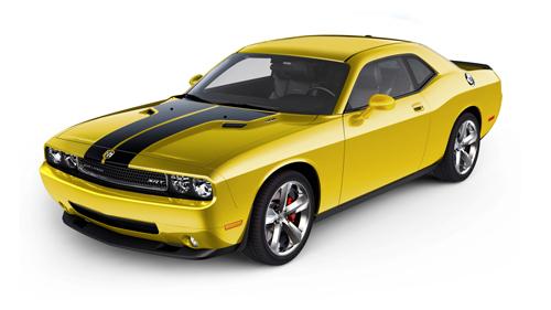 Dodge Announces 2010 Challenger High Impact Colors
