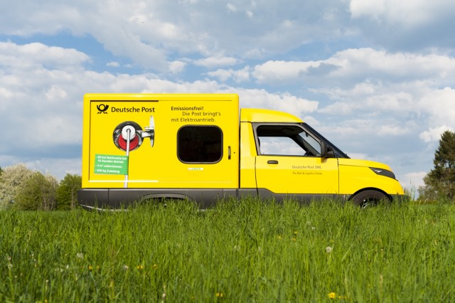 Deutsche Post StreetScooter electric van prototype