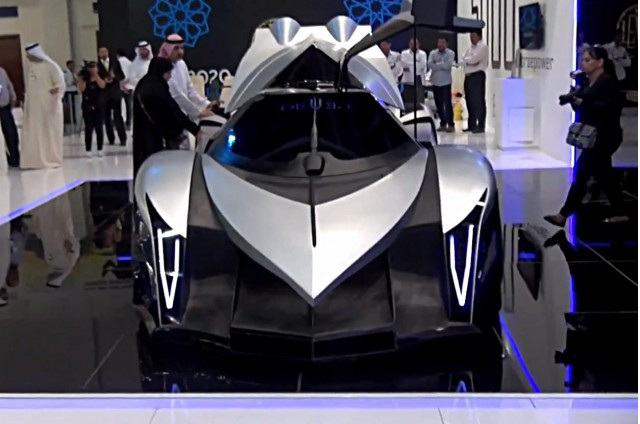 Devel Sixteen at Dubai Motor Show