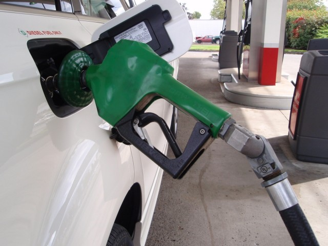 diesel filling nozzle