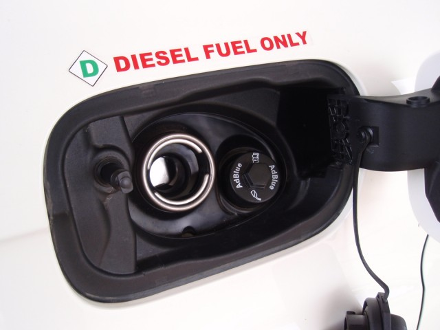 'Diesel fuel only' caution on Audi Q7 TDI