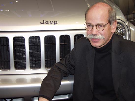Dieter Zetsche geneva 2001