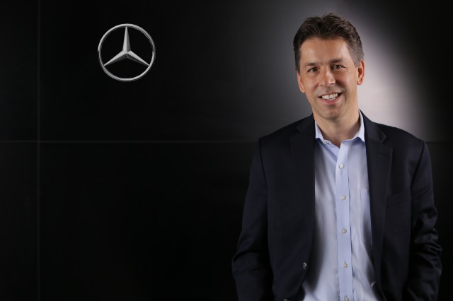 Dietmar Exler, President and CEO of MBUSA and NAFTA