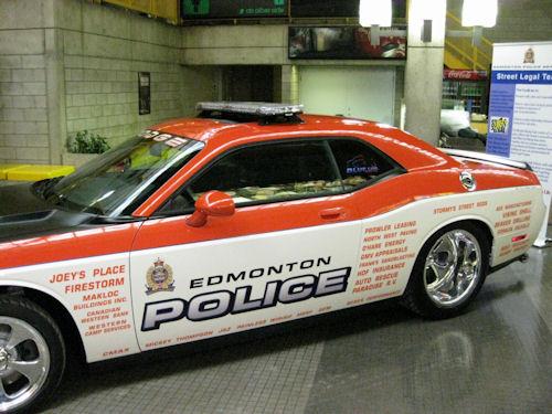 Crazy Canadians Unveil Dodge Challenger Police Car