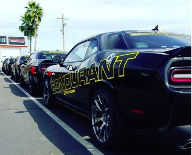Dodge Challengers at Bob Bondurant School of High Performance Driving