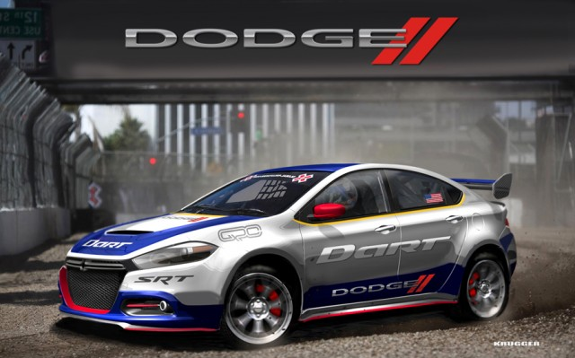 Dodge Dart Global RallyCross Car