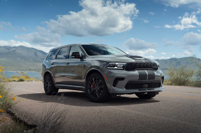 2021 Dodge Durango SUV updated inside and out