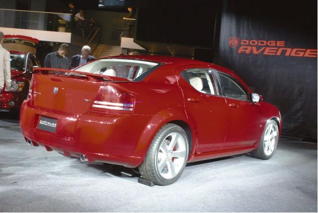 Paris Dodge Avenger Concept