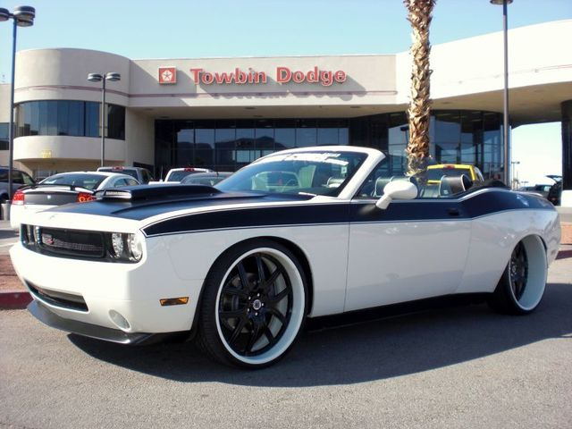 Ebay West Coast Customs Dodge Challenger Wide Body Convertible Up