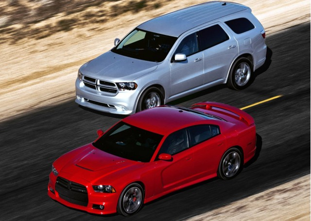 2011 Dodge Charger R/T and Durango R/T