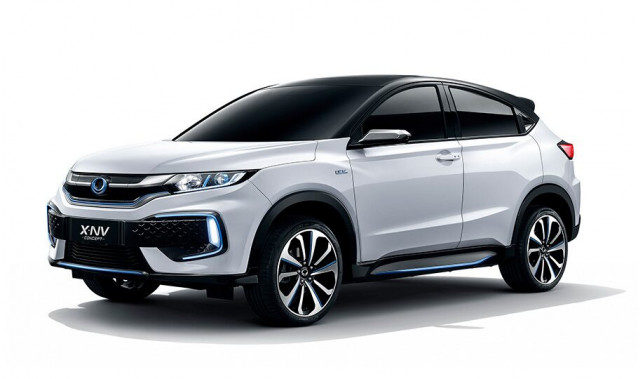 Dongfeng Honda X Nv Concept