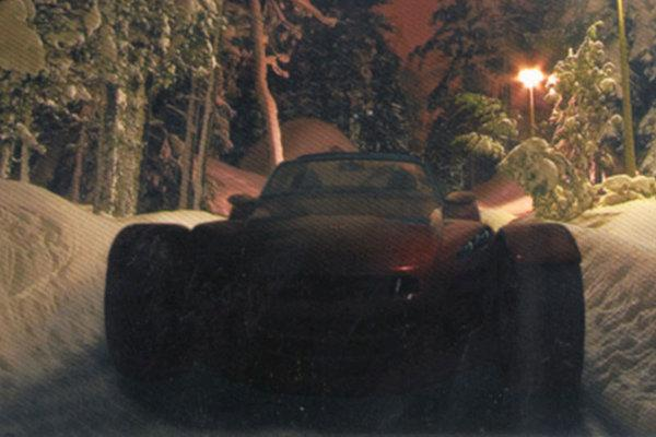 Donkervoort D8 GTO teased in Christmas card