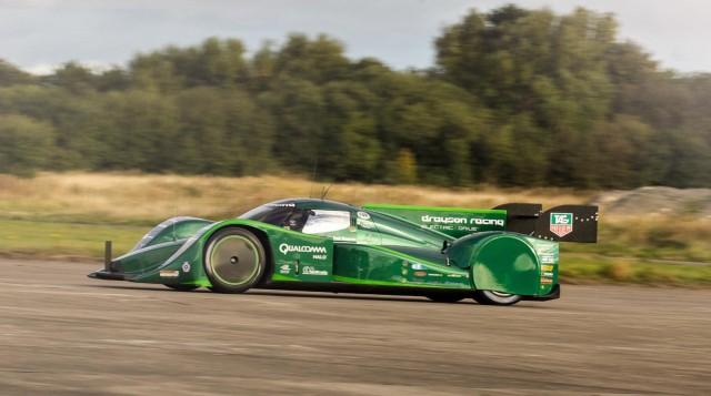 Drayson Racing  B12 69/EV electric Le Mans prototype