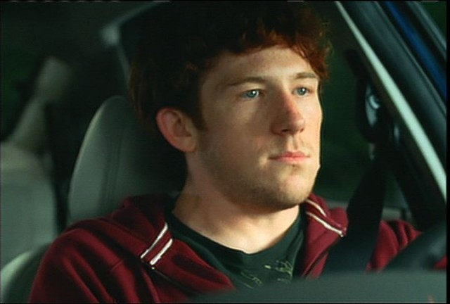 Driver behind wheel, from Ford Sync Rock On ad