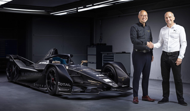 DS and Techeetah partner in Formula E Championship