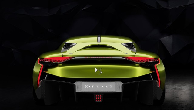 E Tense Concept Electric Sports Coupe From Ds Nee Citroen