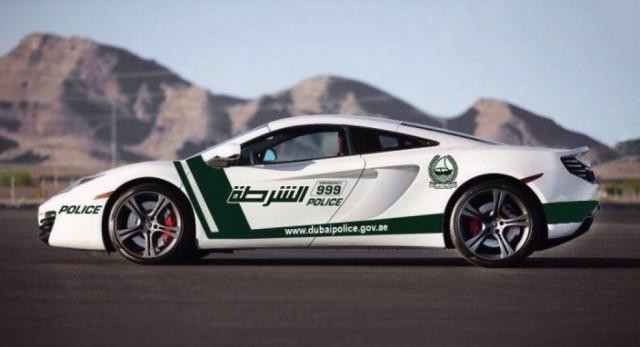 Dubai police adds McLaren MP4-12C to fleet