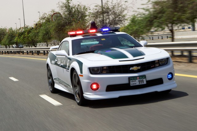 Dubai Police Add More Cool To Cop Car Lineup With Camaro SS - Cool cars preston highway