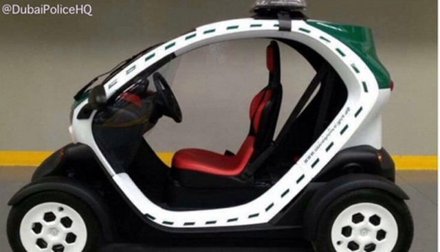 Dubai Police Renault Twizy