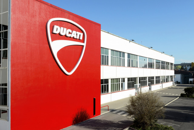 Ducati headquarters in Bologna, Italy