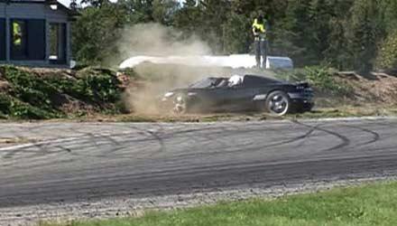 Dude, you just spun your Koenigsegg