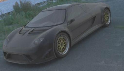 Dutch Hansen GT-R supercar