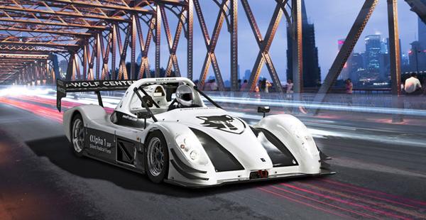e wolf alpha 1 srf electric track car makes debut. Black Bedroom Furniture Sets. Home Design Ideas
