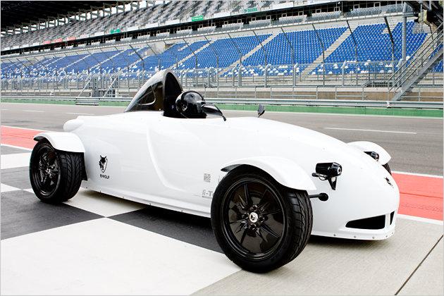 E-Wolf E1 electric roadster