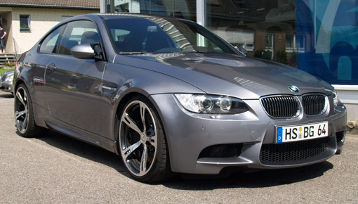 E92 BMW Coupe fitted with M5 V10