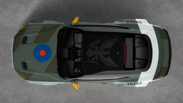 Ford and RTR Create WWII Fighter-Inspired Mustang GT