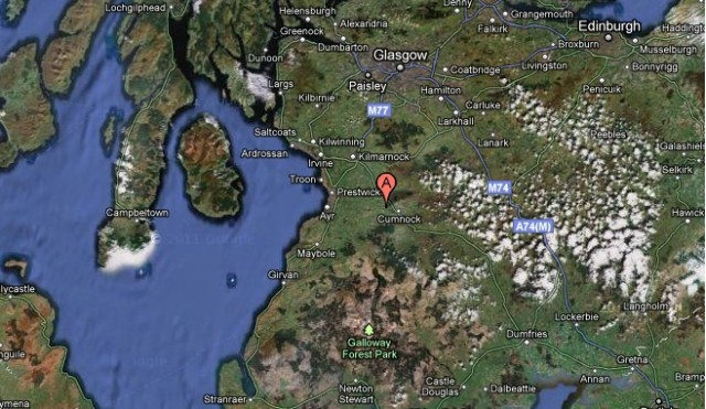 East Ayrshire, Scotland