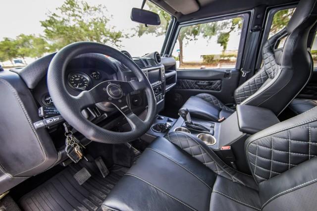 East Coast Defender offering V-8-powered Land Rover ...