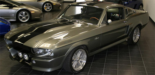 second 60 Eleanor gone mustang