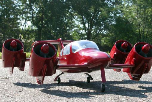 eBay Watch: Moller M400X Skycar prototype