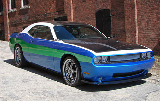 Eco Dodge Challenger Runs on Gas and Electric