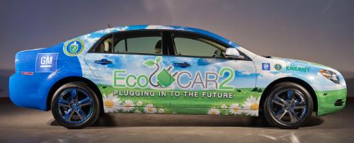 EcoCAR2 teams will modify a Chevrolet Malibu. (PRNewsFoto/Argonne National Lab, Roy Feldman)