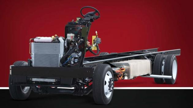 Freightliner Develops Advanced Hybrid RV Chassis