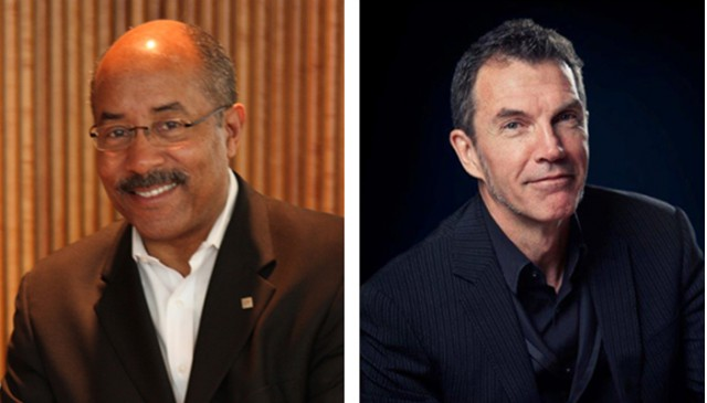 Ed Welburn and Michael Simcoe