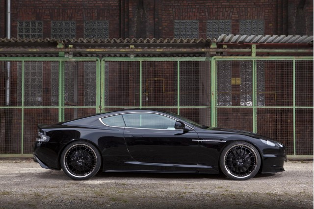 The Aston Martin DBS has been given thorough modifications by edo competition.