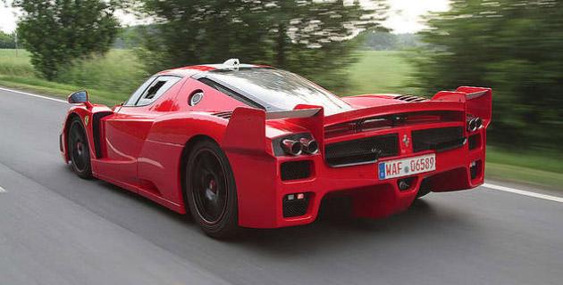 Edo Competition Modifies The Ferrari Fxx To Be Street Legal