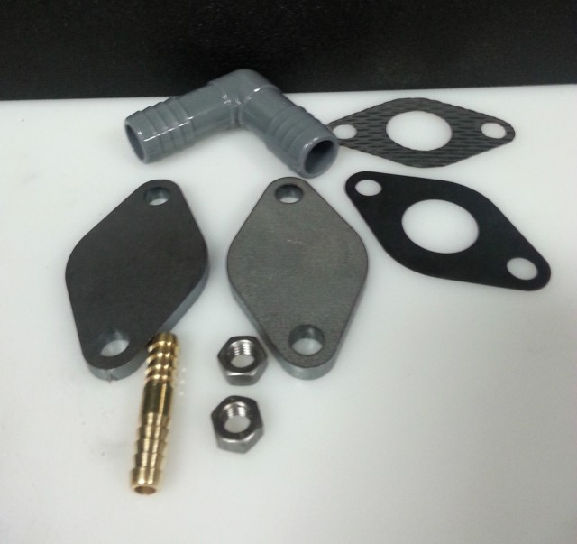 EGR bypass kit for Volkswagen TDI models with BEW, BHW engines
