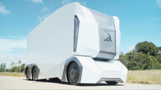 Einride T Pod Autonomous Electric Truck Prototype