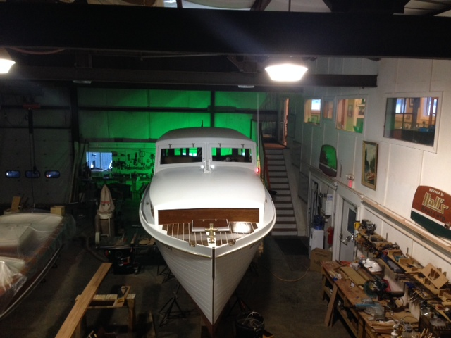 Elco Motor Yachts - 1941 Cruisette 'Green Machine' electric boat