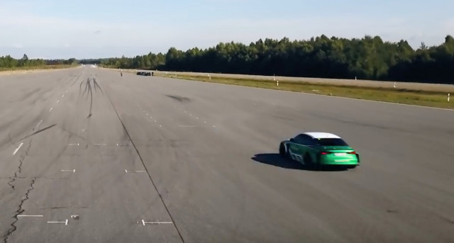 Electric Audi RS 3 hits 130 mph in reverse for a new world record